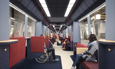 RET-metro 'Rijdende architectuur'