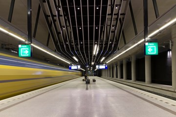 Station Delft (perrons)