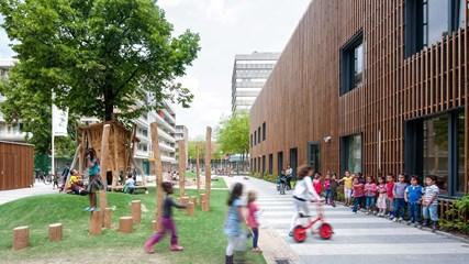 Bouwblok Nieuw West/Fiep Westenberg school