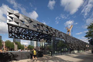 Het Leuvepaviljoen in Rotterdam