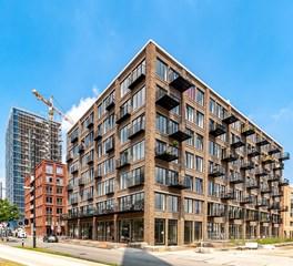 Blok 63, woongebouw en winkels