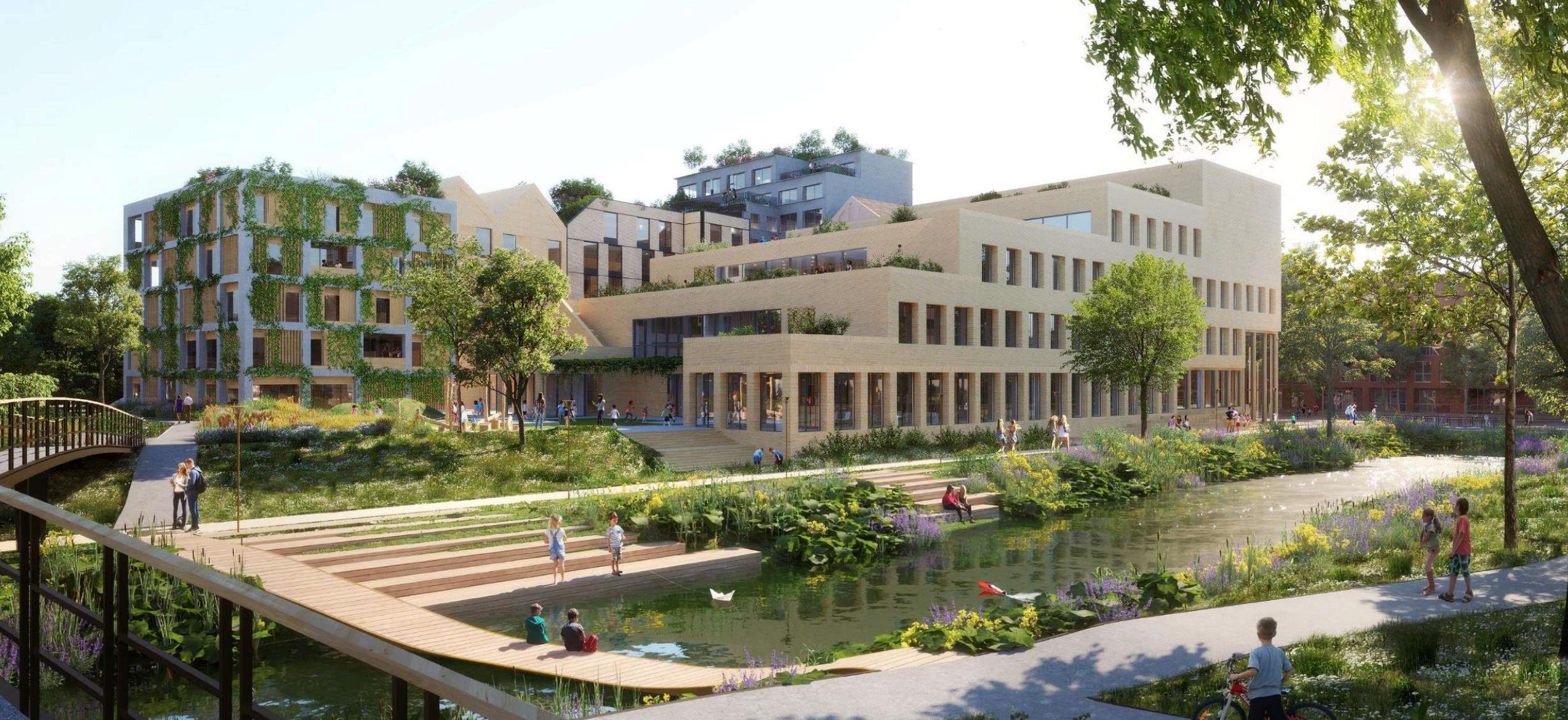 Brede School Holland Park West te Diemen